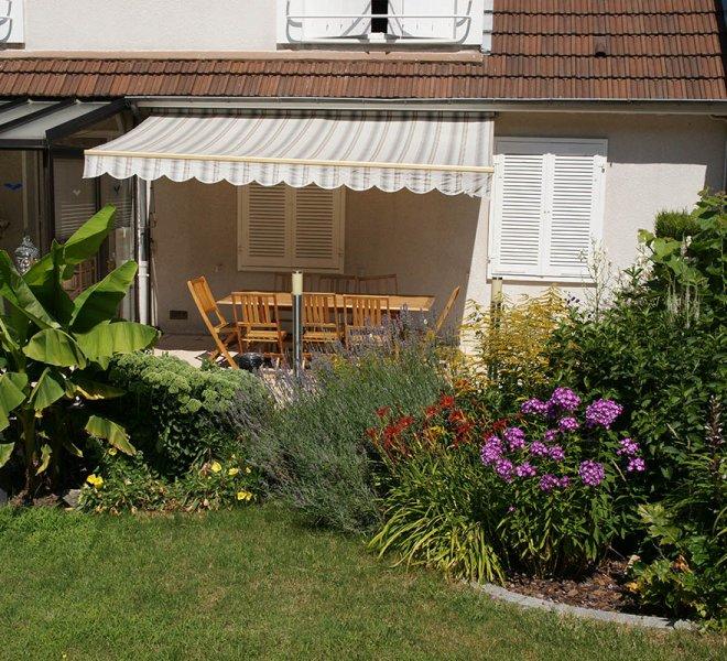 Le jardin - Chambre d'Hotes à Autun